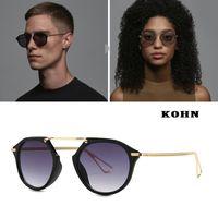 Güneş Gözlüğü 2021 Moda Tasarımcısı Boy Erkek Kadın DPZ Vintage Kalkanı UV400 Kadın için Serin Ins Güneş Gözlükleri