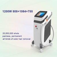300W 800 W 1200W Diod Lazer Epilasyon Taşınabilir 808nm Güzellik Ekipmanları Kalıcı Epilasyon için Etkili ve Güvenli Tedavi