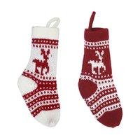 Weihnachtsstrumpf Geschenk Tasche Weihnachtsdekorationen Strümpfe Süßigkeiten Tasche Anhänger Dekorative Weihnachten Dekorative Socken Taschen 4