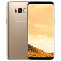 Original Samsung Galaxy S8 + Remodelado S8 Plus G955F G955U 6,2 polegadas OCTA CORE 4GB RAM 64GB ROM 3500mAh 4G LTE Telefone Celular Livre DHL 5 pcs