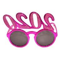 2020 Количество фото Prop очки Flash-порошок Пластиковые очки Новый год Взрослые Дети очки для партии украшения 3style