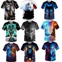 T-shirt a manica corta da uomo solido 3D T-shirt con scollo rotondo personalizzato con scollo top con scollo ad ingrasso Plus Size - Phoenix