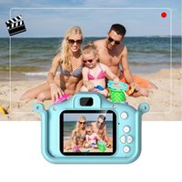 20MP Bambini bambini Camera digitale Videocamera Videocamera Videocamera da 2,0 pollici IPS Schermo Dual Camera Lenti per fotocamera Cat Design Anti-Drop Toys Mini1