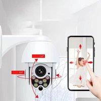 Réseau Wifi boule de suivi automatique Caméra IP sans fil haute Definiton Ptz surveillance étanche