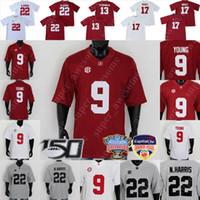 NCAA Alabama Crimson Football Jersey Will Anderson JR Labryan Ray Daniel Wright Josh Jobe Christian Harris Jaylen Moody Malachi Moore