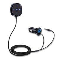 كيت سيارة بلوتوث USB2.0 محول لاسلكي اليدين الحديث الصوت الميكرون المدمج في ميكروفون تحكم الموسيقى الصوت ستيريو الصوت