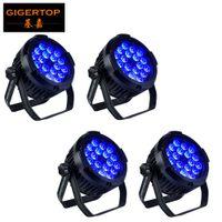 18 LED Par Lights RGBWAP Bunte 130W Beleuchtungsmodi Bühnenlichter Flexible Fernbedienung DMX Control Disco Lights Stecken