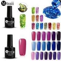 Mtssii 7ML Nail Gel Shimmer LED UV Gel Manicure Shiny Sequins Soak Off Nail Polish Vernis Semi Permanent Gellak