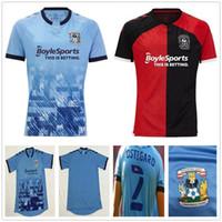 20 21 Coventry City Futbol Forması Biamou Bakayoko Godden Jobello ShipleY Ostigard Jones Allen Hyam Özel 2020 Ev Mavi Futbol Gömlek