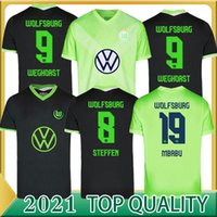 2020 2021 VFL Wolfsburg 축구 유니폼 홈 멀리 Brekalo Roussillon 축구 유니폼 Klaus Xaver Malli Whyhorst 축구 셔츠