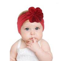 Accessoires de cheveux 10pcs Bandes bébé Baby-Bandes Bandes Bandes Enfants En Cheveux de mousseline de mousseline de mousseline de mousseline de mousseline de mèche-cheveux Stretch Turban Head Wrap Enfants Accessoires1