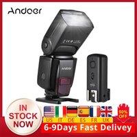 CZ ABD RU Andoer AD560 IV 2.4G Kablosuz On-Kamera Köle Speedlite Flaş Işığı GN50 Flaş Tetik A7 / A7 II1 için