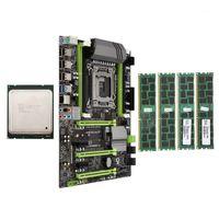 RAMS X79 Материнская плата LGA2011 Combo с E5 2620 CPU 4-CH 16 ГБ (4x4 ГБ) DDR3 RAM 133HZ NVME M.2 SSD SLOT1