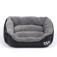 WHPC S-XXXL sofá-cama cama del animal doméstico para los pequeños perros pequeños suave paño grueso y suave caliente cama acogedora casa de perro Nido impermeable perro Basket casa de la estera de la perrera C1004