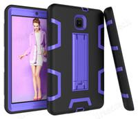 Cassa ibrida con cavalletti per Samsung Galaxy Tab A 8.0 T387 T387V 2018 Tablet Bambini copertura sicura