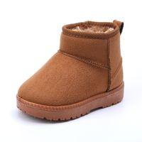 Cuzullaa Kid Baby Baby Shoes Shoes Niño Invierno Botas de nieve Zapatos de peluche Más grueso Suela Muchachas Niñas Botas de nieve Zapatos Big Tamaño 22-38 LJ201202