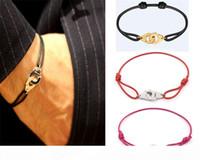 França famosa jóias dinh van pulseira para mulheres moda jóias 925 esterlina corda de prata algema pulseira menottes