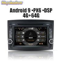 DSP PX6 IPS الروبوت 9.0 4 جيجابايت 64 جيجابايت سيارة دي في دي لاعب GPS خريطة جوجل واي فاي RDS راديو بلوتوث 4.2 ل doBlo 2021 2021
