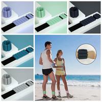 Dumbbells Peso Sandbag Botta da polso regolabile 453G Attrezzature per il fitness Attrezzature per la caviglia Peso Pesi cuscinetti Sandbag Cyz2858