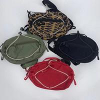 Borsa a foglia di fionda Unisex Fanny Pack Fashion Travel Bag borsa da viaggio Zaini in vita # 9365