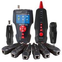광섬유 장비 Noyafa NF-8601W 다기능 네트워크 케이블 TesterLCD 길이 테스터 중단 점 RJ45 UTP STP 진단 톤 트레이서
