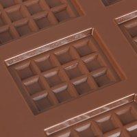 큐브 와플 금형 비 스틱 초콜릿 금형 흔들리는 퐁당 격자 베이킹 도구 사탕 케이크 장식 12 조각 C Moon C Qylged