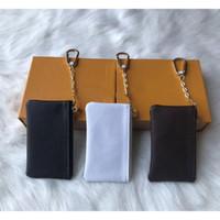 louis vuitton LV Anahtar Kılıfı 5 renk deri Sikke Çantalar moda klasik kadınlara anahtarlık bozuk para cüzdanı küçük deri Anahtar Cüzdan A2 tutar