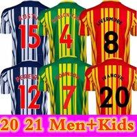 2020 2021 West Soccer Jerseys Bromwich Livermore Diang Robson-Kanu Brunt Albion Home Away 3rd 20 21 الرجال والاطفال قميص كرة القدم