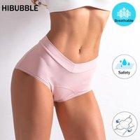 Culotte Femmes L-5XL Sous-vêtements Femmes Fuite Vease Menstrual Coton Antibactérien Physiologique High-Taille SHIFFS LINGERIE