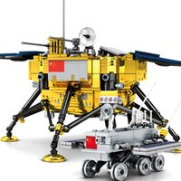 2020 New Lunar Lander 11 International Space Station Space Rocket Toys 21321 10266 Building Blocks For Kids Child Boys Gift LJ200928