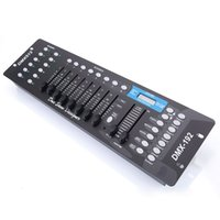 192CH DMX512 المعادن DJ LED ضوء المرحلة المراقب المالي (AC 100-240V) لمرحلة KTV الإضاءة، وعلى ضوء الاسمية