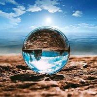 K9 Dekoratif Kristal Topu 60mm Temizle Fotoğraf Lens Prop Küre Masaüstü Dekor Ev Sanat Süsleme W-00573