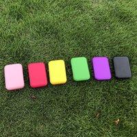 110 * 75mm Sigara Kılıfı Plastik Katı Renk Neme Seyahat Taşınabilir Yüksek Kaliteli Puro Kutusu Depolama Sigara Aksesuar Dayanıklı 5yha N2