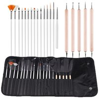 Акриловые ногти Кисть Набор для маникюра Nail Art Дизайн Живописи Кисти Расставить Pen Tool Kit