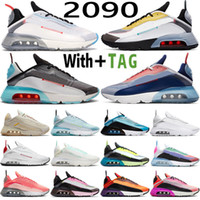 2021 Top Calidad Transpirable 2090 OG Ultra Mens Mujeres Running Shoes Speed Yellow Platinum Be True Volt Azul EE. UU. EE. UU. EE.UU. Zapatillas deportivas Deportes Startings Tamaño 36-45
