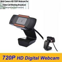 Webcam della macchina fotografica 720P HD pieno WebCam Streaming Live Video Broadcast alta qualità con stereo auto microfono digitale