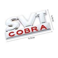 자동차 스티커 SVT 코브라 엠블럼 배지 후방 트렁크 전면 후드 그릴 Ford Mustang Shelby Svt Cobra F150 F250 F350 GT Fiesta