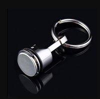 Toptan Promosyon Hediyeler, Gümüş, Metal Pistonlu Araba Anahtarlık Anahtarlık Motor FOB Anahtarlık Halka Anahtar Ringps2195