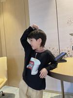 Sweatshirts pour enfants pour garçons filles 2021 Spring Kids Sweat à capuche T-shirt à manches longues Baby Vêtements Tees Tops