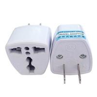 Hochwertiges Reise-Ladegerät AC-Elektrische Macht UK Au EU an US-Stecker-Adapter-Konverter USA Universal Power Plug Adapter Connector