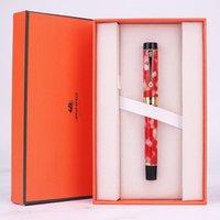 Stylos de haute qualité Jinhao encre stylo dans un cadeau de bureau de luxe pour l'écriture de pluma Fuente Caneta Tinteiro F Nib