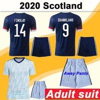 2020 McGregor Griffiths Robertson Mens Soccer Jerseys Pantalones Scotland Shankland Findlay McGinn Inicio Azul Alejado Traje Adulto Camisas De Fútbol