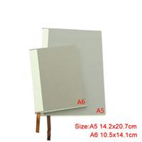 Sublimations-leeres Notebook-Verbrauchsmaterial Multi-Größe mit Kern-doppelseitigem Banddruckmuster Notizblock-Büro-Notebooks liefert 27JY3 N2