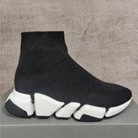 2021 Stivali da uomo Stivali da uomo Donna Casual Shoe Oreo Rosso Brown Triplo Black Black Black Bianco Bianco Bianco Sneakers Flat Sneakers Trainer Runner con sacchetto di polvere