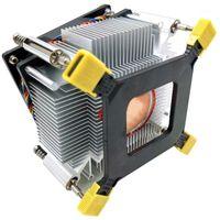 Pads de refroidissement pour ordinateur portable CPU refroidisseur ventilateur 1366 2011 1155 Contrôle de la température du fil à 4 broches et radiateur de vitesse pour x58 x791