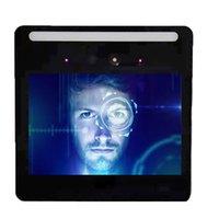USVision Standalone Face Reconhecimento Tempo de atendimento de tempo 5000PCS imagens faciais de corpos vivos Reconhecimento controle de acesso à tela de toque