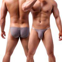 Mutande Sexy Bulge Biancheria intima Briefs Brasiliano Penis Sacchetto Vita sottile Low Rise GAY Small S-XXL