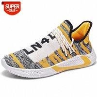 Männer Casual Schuhe Atmungsaktiv Stoßdicht Licht Gewicht Lace Up Männer Klinge Sneakers Höhe Erhöhung Fitnessstudio Walking Schuhe Männliche Freizeit # EX7P