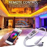 Hohe Helligkeit 5M RGB 5050 wasserdichtes LED-Streifenlicht SMD 44 Schlüsselfern Wifi drahtloses Licht Flexible Beleuchtung