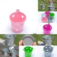 Mini Scacchi vuoti fuori secchi di cerume di cerimonia nuziale Party Tin Bucket Casy Box Bombardi 3 NWN8T